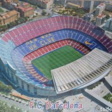 Coleccionismo deportivo: POSTAL CAMP NOU. FC BARCELONA. Lote 92144337