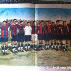 Coleccionismo deportivo: POSTER FUTBOL FUTBOL CLUB BARCELONA - AÑOS 20. Lote 92904175