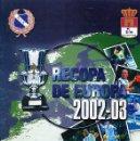Coleccionismo deportivo: BALONMANO - DOSSIER RECOPA EUROPA MITICO BM CIUDAD REAL - TEMPORADA 2002-03. Lote 93395770
