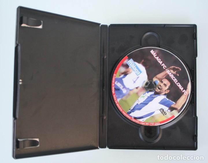 Coleccionismo deportivo: DVD PARTIDO FUTBOL MALAGA CF 5 – 1 FC BARCELONA 3-12-2003 UNA FECHA PARA RECORADAR - Foto 2 - 94382542