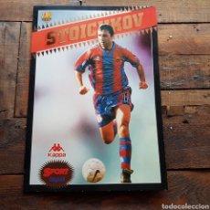 Coleccionismo deportivo: COLECCIONABLE SPORT STOICHKOV FC BARCELONA. Lote 94609790