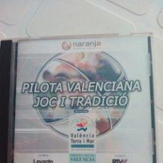 Coleccionismo deportivo: CD PILOTA VALENCIANA. Lote 96232359