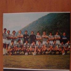 Coleccionismo deportivo: FOTO PLANTILLA JUVENTUS DE ENCICLOPEDIA DEL FUTBOL. Lote 97252335