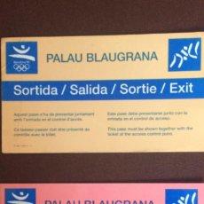 Coleccionismo deportivo: PASES ACREDITATIVOS JJOO BARCELONA92. Lote 98174416