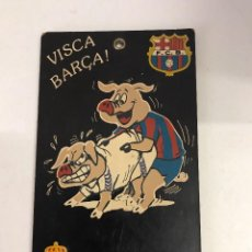 Coleccionismo deportivo: PLACA BARÇA. Lote 99170583