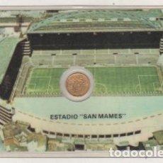 Collectionnisme sportif: MONEDA OFICIAL CONMEMORATIVA MUNDIAL FÚTBOL ESPAÑA 82 ESTADIO SAN MAMES ATHLETIC BILBAO. Lote 100518695