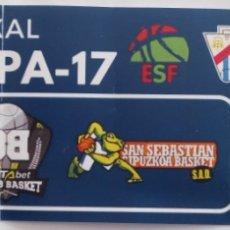 Coleccionismo deportivo: ENTRADA EUSKAL KOPA 17. BILBAO BASKET VS GIPUZKOA BASKET. Lote 101555898