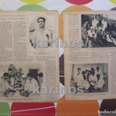 Coleccionismo deportivo: 1930 JAIME LAZCANO (REAL MADRID), FUTURO MÉDICO. INSTITUTO PUERICULTURA Y MATERNOLOGIA. VALENCIA, BA. Lote 101642119