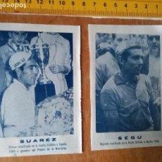 Coleccionismo deportivo: VUELTA CICLISTA ESPAÑA CICLISMO MONTAÑA - CICLISTA - CICLISTAS 1959 - SUAREZ - VAN LOOY - SEGU. Lote 102962759