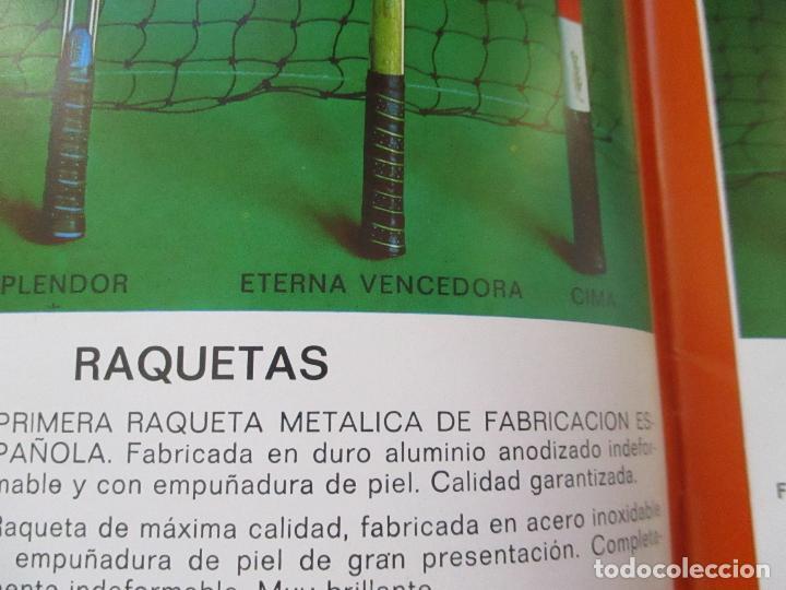Coleccionismo deportivo: CLIMAX CATÁLOGO OCTUBRE 1971- MIGUEL LLEBOT- BARCELONA - Foto 3 - 102970379