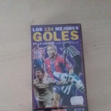 Coleccionismo deportivo: VHS MARCA LOS 150 MEJORES GOLES. Lote 103396435