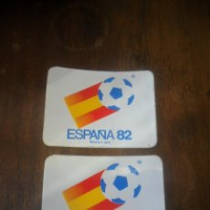 Coleccionismo deportivo: PEGATINAS DEL MUNDIAL DE FUTBOL ESPAÑA 82. Lote 103562823