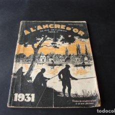 Coleccionismo deportivo: ANTIGUO CATALOGO DE PESCA AL´ANCRE D´OR 1931. Lote 104062787