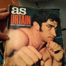 Coleccionismo deportivo: REVISTA AS SOBRE URTAIN . Lote 104131935