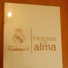 Coleccionismo deportivo: HISTORIAS CON ALMA TEMPORADA 1 EN DVD - FUNDACIÓN REAL MADRID - PRECINTADO - NUEVO. Lote 104563479