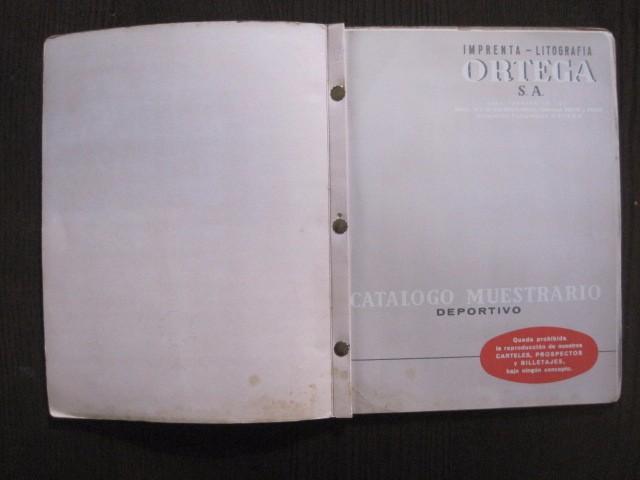 Coleccionismo deportivo: CATALOGO PROPAGANDA DEPORTIVA - FUTBOL - IMPRENTA ORTEGA -VER FOTOS- (V-12.832) - Foto 4 - 104897103
