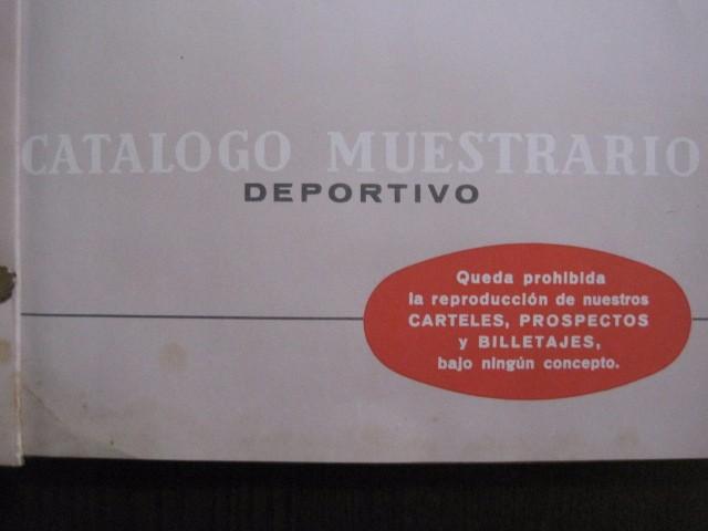 Coleccionismo deportivo: CATALOGO PROPAGANDA DEPORTIVA - FUTBOL - IMPRENTA ORTEGA -VER FOTOS- (V-12.832) - Foto 5 - 104897103