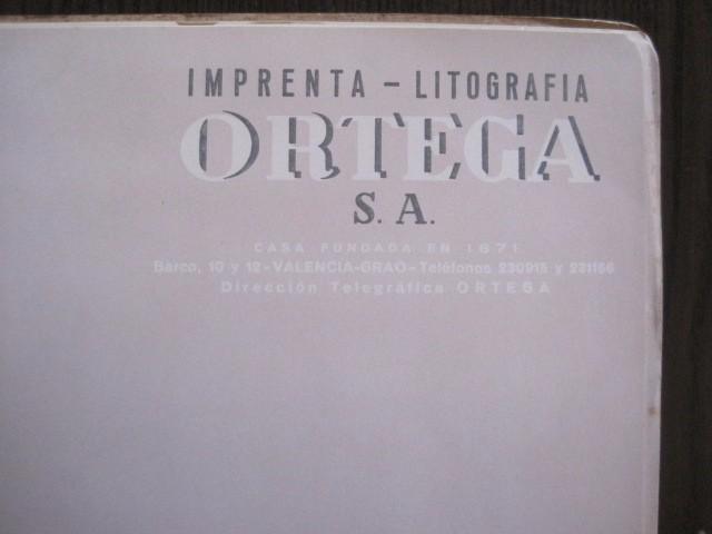Coleccionismo deportivo: CATALOGO PROPAGANDA DEPORTIVA - FUTBOL - IMPRENTA ORTEGA -VER FOTOS- (V-12.832) - Foto 6 - 104897103