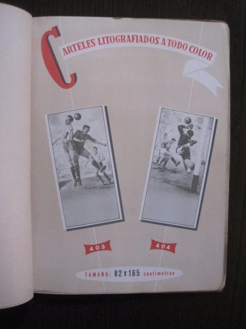 Coleccionismo deportivo: CATALOGO PROPAGANDA DEPORTIVA - FUTBOL - IMPRENTA ORTEGA -VER FOTOS- (V-12.832) - Foto 16 - 104897103