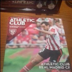 Coleccionismo deportivo: PROGRAMA PARTIDO ATHLETIC BILBAO / REAL MADRID. Lote 105115607