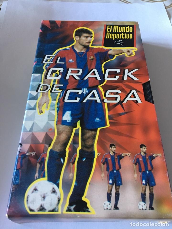 VHS EL CRACK DE CASA GUARDIOLA (Coleccionismo Deportivo - Documentos de Deportes - Otros)