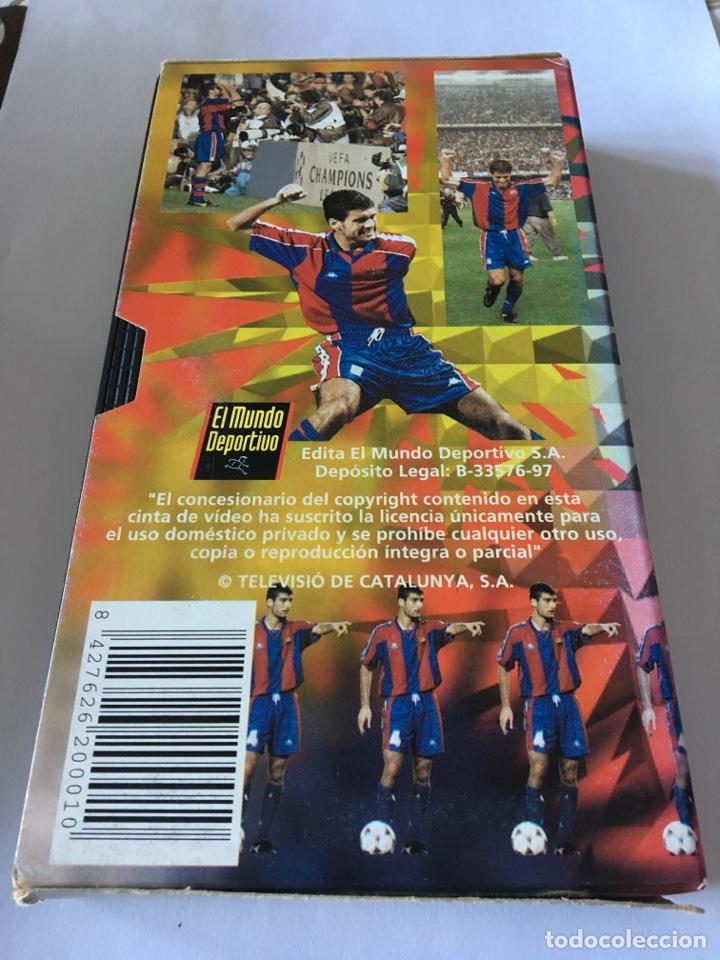 Coleccionismo deportivo: Vhs el crack de casa Guardiola - Foto 2 - 105259418