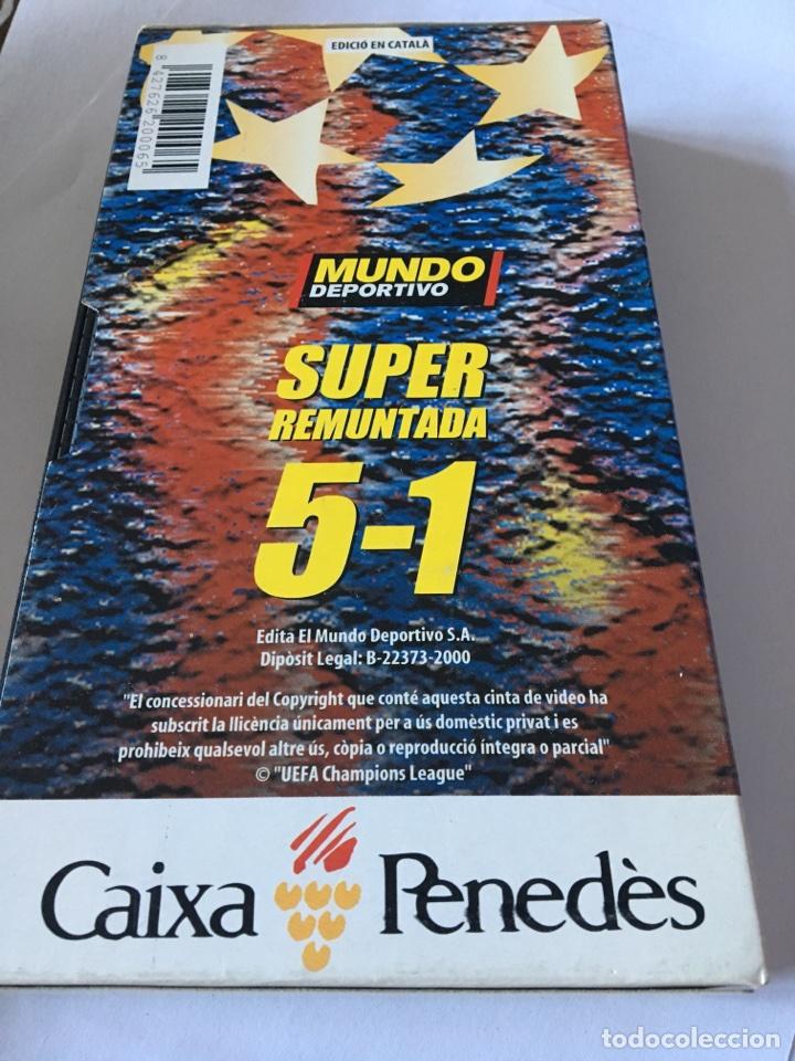 Coleccionismo deportivo: Vhs super remuntada barsa - chelsea 5-1 - Foto 2 - 105261366
