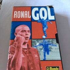 Coleccionismo deportivo: VHS RONALGOL RONALDO BARCELONA. Lote 105261439