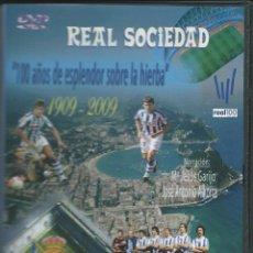 Coleccionismo deportivo: REAL SOCIEDAD DE FUTBOL-VIDEO 100 AÑOS DE LA REAL. Lote 183859956
