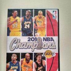 Coleccionismo deportivo: DVD NBA CHAMPIONS LOS ANGELES LAKERS GASOL KOBE BRYANT PHIL JACKSON. Lote 107683651