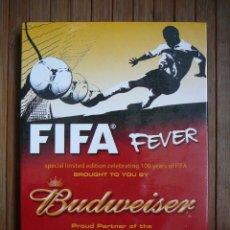Coleccionismo deportivo: DVD FIFA FEVER. 100 YEARS. BUDWEISER. PRECINTADO. Lote 109313215