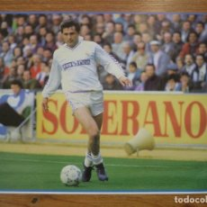 Coleccionismo deportivo: LAMINA MAXI CROMO REAL MADRID ASEGURATOR GRUPO OTAYSA Nº 107 RAFA GORDILLO - 24 X 18 CMS.. Lote 110119599