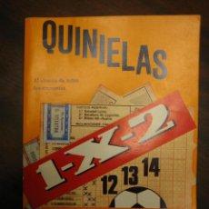 Coleccionismo deportivo: LIBRO PARA ACERTAR QUINIELAS DE FUTBOL. Lote 110498843