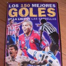 Coleccionismo deportivo: VÍDEO VHS LOS 150 MEJORES GOLES DE LA LIGA DE LAS ESTRELLAS. Lote 110930683