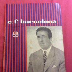 Coleccionismo deportivo: PROGRAMA C. F. BARCELONA. 12 SEPTIEMBRE 1959. PORTADA HELENIO HERRERA.. Lote 111192283