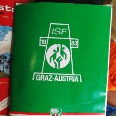 Coleccionismo deportivo: DOSIER PROGRAMA TORNEO BASKET INTERNACIONAL AÑO 1983 AUSTRIA. Lote 111684139
