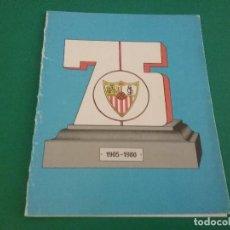 Coleccionismo deportivo: TARJETA FELICITACION SEVILLA FC.1980.. Lote 111911095