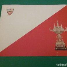Coleccionismo deportivo: TARJETA FELICITACION SEVILLA FC.1976.. Lote 111912739