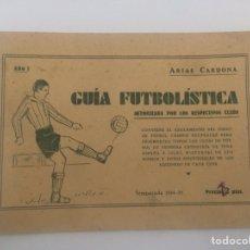 Coleccionismo deportivo: GUIA FUTBOLISTICA 1934-1935 AÑO I. Lote 112743815