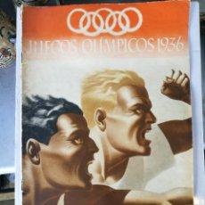 Coleccionismo deportivo: REVISTAS JUEGOS OLIMPICOS1936 DE BERLÍN.. Lote 122142035