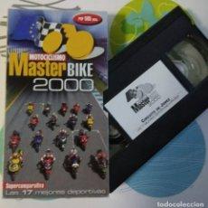 Coleccionismo deportivo: VHS MASTERBIKE 2000 COMPARATIVA MOTOCICLISMO. Lote 114647559