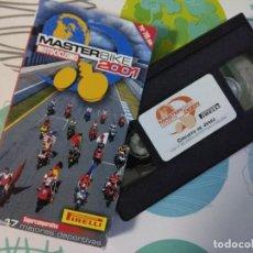 Coleccionismo deportivo: VHS MASTERBIKE 2001 COMPARATIVA MOTOCICLISMO. Lote 114648223