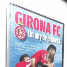 Coleccionismo deportivo: GIRONA FC *** UN ANY DE PRIMERA *** TEMPORADA 2012/13 *** DVD PRECINTADO. Lote 56905228
