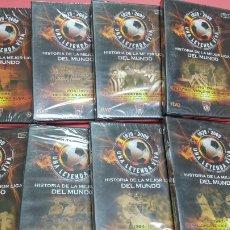 Coleccionismo deportivo: 8 DVD MARCA UNA LEYENDA VIVA. SIN ABRIR. HISTORIA DE LA MEJOR LIGA DEL MUNDO. Lote 116661062