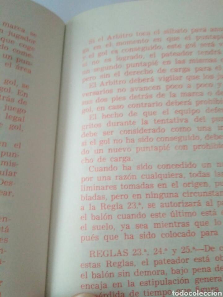 Coleccionismo deportivo: ANTIGUO REGLAMENTO DE JUEGO FEDERACION RUGBY-REGLAS Y NOTAS AÑOS 60 ENERO 1966 - Foto 5 - 117374976