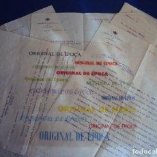 Coleccionismo deportivo: (F-180938)CARTAS COLEGIO NACIONAL DE ARBITROS DESIGNANDO EL ARBITRAJE A ENRIQUE PERIS DE VARGAS,1922. Lote 117616163