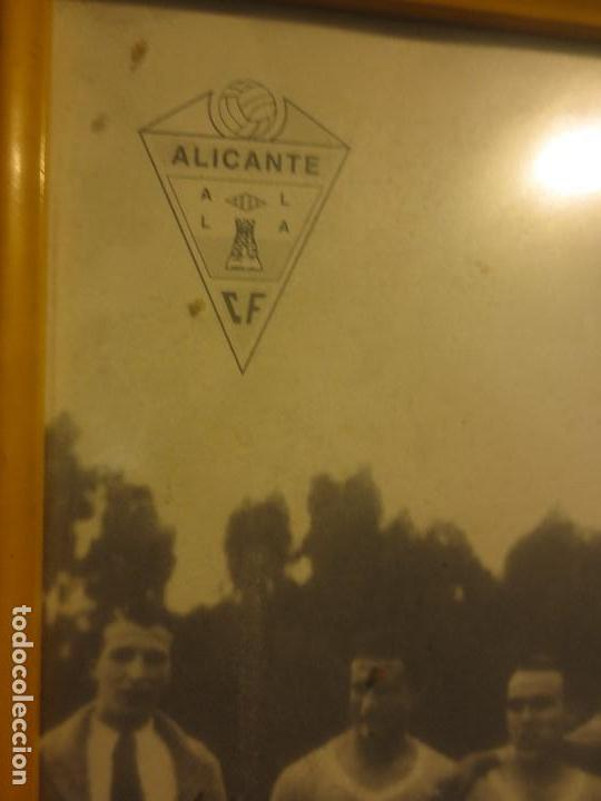 Coleccionismo deportivo: ALICANTE FUTBOL CLUB PLANTILLA ANTIGUO FOTO CONMEMORATIVO PUBLICITARIO BRUMOL - Foto 2 - 117697207