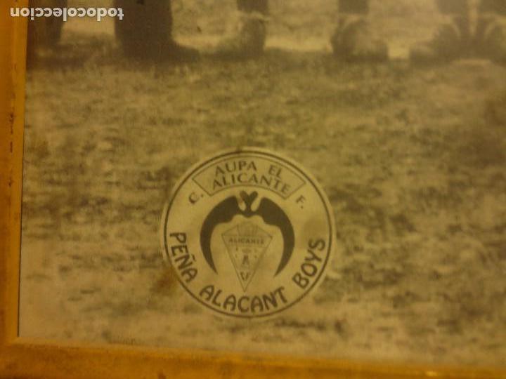 Coleccionismo deportivo: ALICANTE FUTBOL CLUB PLANTILLA ANTIGUO FOTO CONMEMORATIVO PUBLICITARIO BRUMOL - Foto 4 - 117697207
