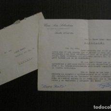 Coleccionismo deportivo: FUTBOL CLUB BARCELONA - CARTA GRATITUD A RAMALLETS - AÑO 1958 - VER FOTOS - (V-14.326). Lote 118576047