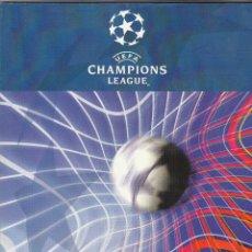 Coleccionismo deportivo: PROGRAMA OFICIAL CHAMPIONS LEAGUE.BAYERN LEVERKUSEN-R.MADRID.GLASGOW 2002.. Lote 119553043